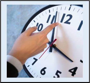 Time, Productivity, Accountability